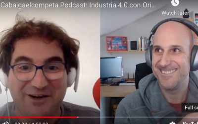 2020-04-25 [Podcast] Cabalga el Cometa EP-22: Masterclass sobre Industria 4.0 con Oriol Rius