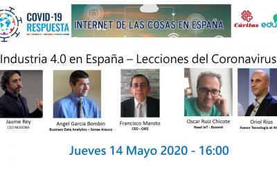 2020-05-14 [Webinar] Industria 4.0 en España – Lecciones del Coronavirus