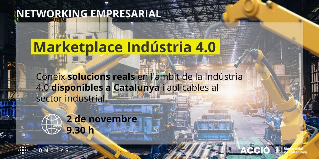 2020-11-02 [Presentación] Marketplace de solucions d'Indústria 4.0