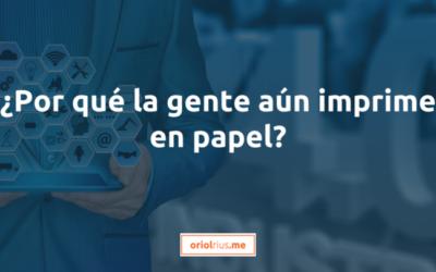 ¿Por qué la gente aún imprime en papel?